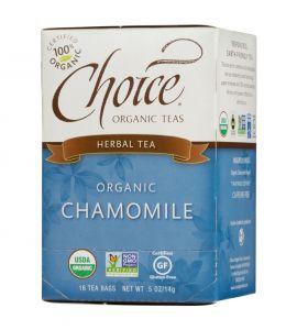Choice® Organic 6/16 TB Chamomile Herb Tea