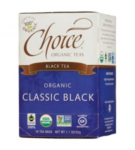 Choice® Organic 6/16 TB Classic Black Tea