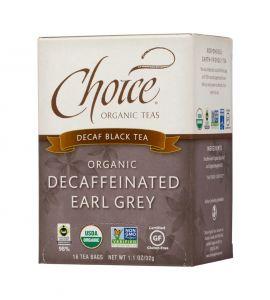 Choice® Organic 6/16 TB Decaf Earl Grey Tea