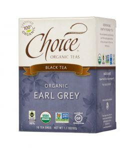 Choice® Organic 6/16 TB Earl Grey Tea