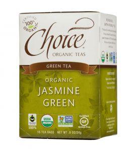 Choice® Organic 6/16 TB Jasmine Green Tea