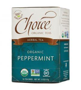 Choice® Organic 6/16 TB Peppermint Herb Tea