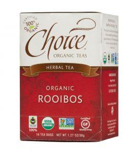 CLOSEOUT Choice® Organic 6/16 TB Rooibos Red Bush Tea