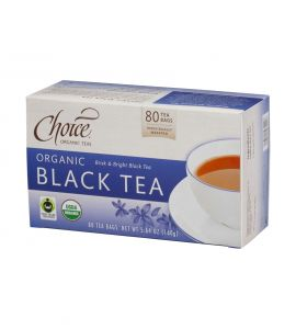 Choice® Organic 6/80 TB Black Tea
