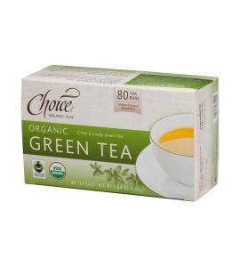 Choice® Organic 6/80 TB Green Tea