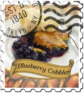 Blueberry Cobbler Dark Roast Flavored Coffee