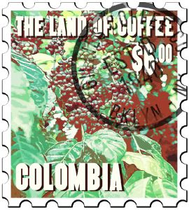 GREEN COFFEE Colombia Especial MC Decaffeinated 132 LB
