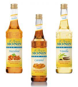 Monin®  Sugar Free Six Pack 6x750ml Your Choice