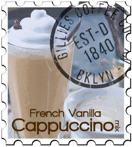 Gillies French Vanilla Cappuccino Mix 6/2 LB