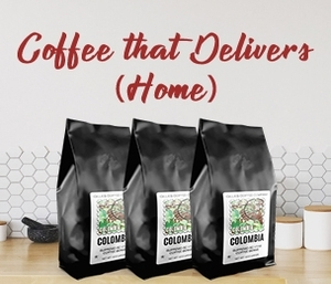 Coffee that delivers
